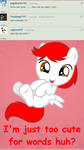 Ask Young DC: Question 2 - My cute self by DreamCasterPegasus