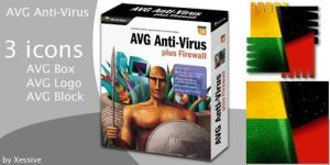 AVG Anti-Virus Icons by XSV