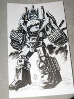 2010 BCC : Bruticus Sketch by fbwash