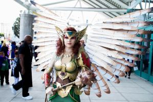 Hawkgirl 3 by Were-All-Mad-Photos