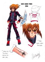 Dark Signer Judai by x-Pleiades-x