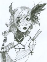 Gothic Doodlings by Zirconia