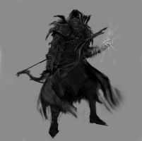 Champion of Boethiah sketch by psypher101