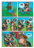 Comic- bouncy castle 1 by wolfcub