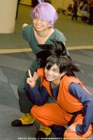 DBZCosplay: 2 to save da world by TechnoRanma
