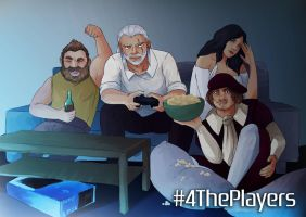 Witcher 3 - #4ThePlayers by busik