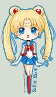 Chibi Sailor Moon by SiliceB