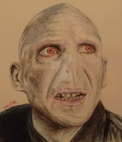Lord Voldemort by LeahRosslyn