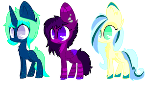 Pony Adopts batch #1 *OPEN* by anonprincess11