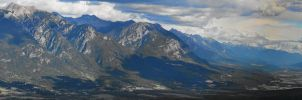 Valley Mt 7 3 Picture Panorama by Joe-Lynn-Design