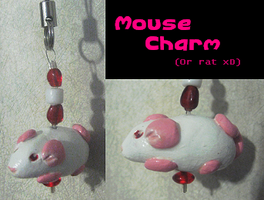 Mouse Charm by HollieBollie
