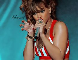 Rihanna, Rock in Rio 2011. by everybodysgotaprice