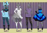 .:Outfit Set 2 FOR SALE:. by Dawnrie