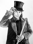 Mr. Willy Wonka by abish