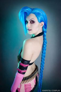 Jinx - League of Legends by Kinpatsu-Cosplay