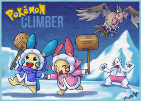 Pokemon Climber by TamarinFrog