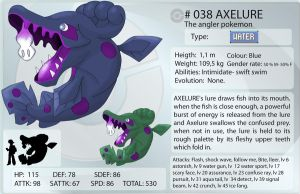 Frozen corundum 038 Axelure by shinyscyther