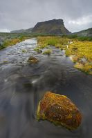 The rock, Iceland by Brettc