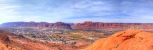 Moab HDR Panoramic by Sukaima