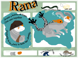Rana the Poisonous Finnedyr by anime4always