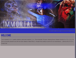 Untitled Garrus layout. by sindoreii