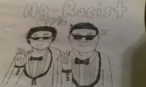 No Racist!!! by amazerbeta