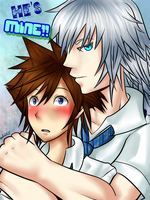 He's Mine! - Happy SoRiku Day 2013! by Rii-chanx3