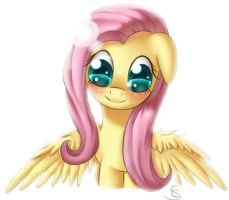 Just Fluttershy by DivLight