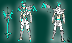 Archangel Nemisis (skin idea) by TimeLordJikan