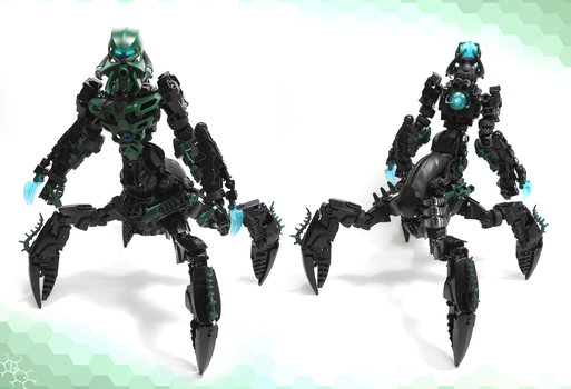 Moc. Hirkann the Dark Hunter by Darkraimaster99