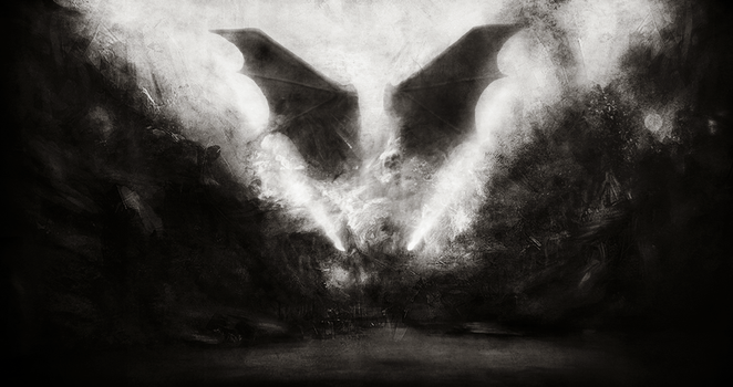 The Devil Bat by TALONABRAXAS