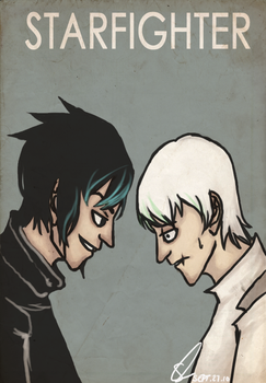 Cain and Abel by AntagonizingThistle