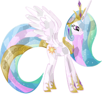 Crystal Princess Celestia by Vector-Brony