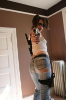 Shelly Zombie Hunter Stock 3 by KINGZOMBIE-STOCK