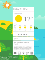 Google Now Suite for XWidget by Brebenel-Silviu