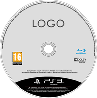 Latest PS3 Disc Template (PNG FW file) by dAsh1412
