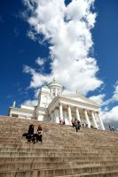 helsinki cathedral by princepoo