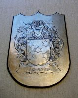 Coat of Arms of Tavares Family by CacaioTavares