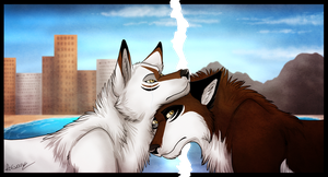 Will Miss You For A Month.. by TheDaylightWolf