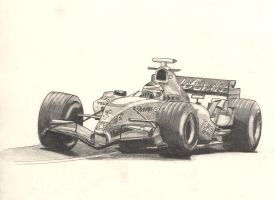 alonso in renault by olly83