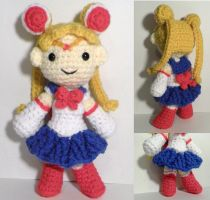 Sailor Moon amigurumi by BunnieBard