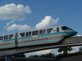 Blue Line Monorail by Dream-finder