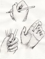 Hand study 6 by ProudToSketch
