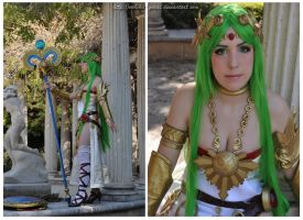 Palutena by Yurai-cosplay
