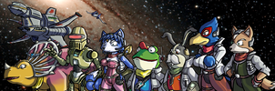 We're Star Fox by ChetRippo