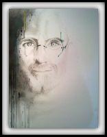 in memory of Steve Jobs by BurakTOK