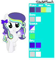 MLP OC - Reference Sheet (Mystic Glow) by StarlightRaven14