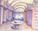 The library - Gemma's corner by Dedasaur