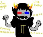 hey look sollux by XMordecaiRigbyX
