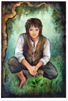 Frodo Smile by ebe-kastein